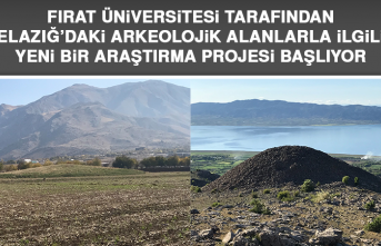 Elazığ'daki Arkeolojik Alanlarla İlgili Yeni Bir Araştırma Projesi Başlıyor