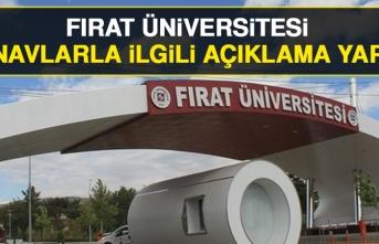 Fırat Üniversitesi Final Sınavlarıyla İlgili Açıklama Yaptı