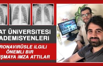 Fırat Üniversitesi'nde Koronavirüsle İlgili Dikkat Çeken Araştırma