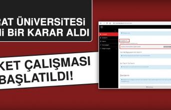Fırat Üniversitesi Sınavlarla İlgili Yeni Karar Aldı