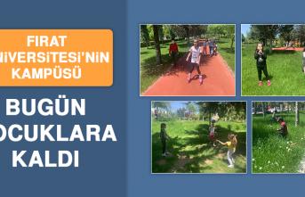 Fırat Üniversitesi'nin Kampüsü Bugün Çocuklara Kaldı