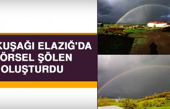 Gökkuşağı, Elazığ'da Görsel Şölen Oluşturdu