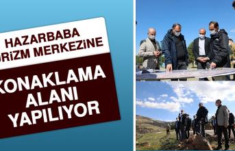 Hazarbaba Turizm Merkezine Konaklama Alanı Yapılıyor