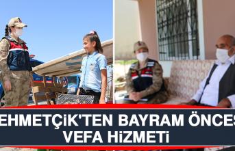 Mehmetçik'ten Bayram Öncesi Vefa Hizmeti