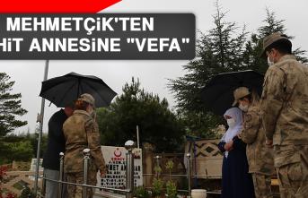 """Mehmetçik'ten Şehit Annesine """"Vefa"""""""