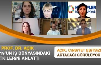 Prof. Dr. Yasemin Açık, Covit-19'un İş Dünyasındaki Etkilerini Anlattı