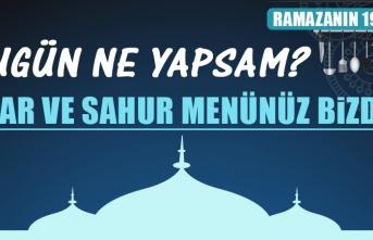 Ramazanın On Dokuzuncu Gününde Elazığlılara Özel Menü