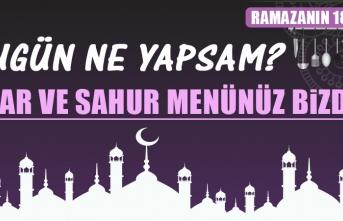 Ramazanın On Sekizinci Gününde Elazığlılara Özel Menü