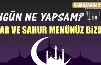 Ramazanın Yirmi İkinci Gününde Elazığlılara Özel Menü