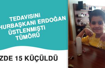 Tedavisini Cumhurbaşkanı Erdoğan Üstlenmişti, Tümörü Yüzde 15 Küçüldü