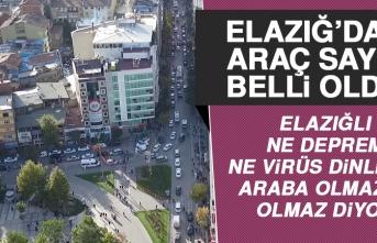 TÜİK Elazığ'ın Araç Sayısını Açıkladı