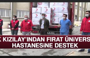 Türk Kızılay'ından Fırat Üniversitesi Hastanesine Destek