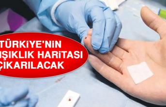 Türkiye'nin Bağışıklık Haritası Çıkarılacak