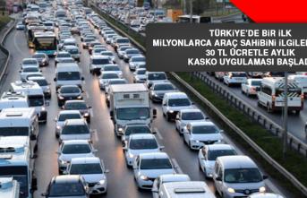Türkiye'de bir ilk… Milyonlarca araç sahibini ilgilendiriyor!