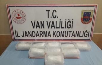 Van'da 9 kilogram uyuşturucu ele geçirildi