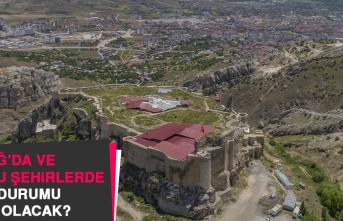 18 Haziran'da Elazığ'da Hava Durumu Nasıl Olacak?