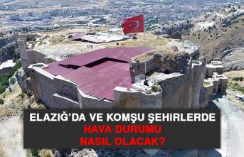 20 Haziran'da Elazığ'da Hava Durumu Nasıl Olacak?