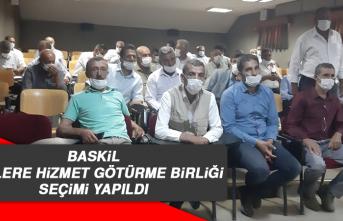 Baskil Köylere Hizmet Götürme Birliği Seçimi Yapıldı