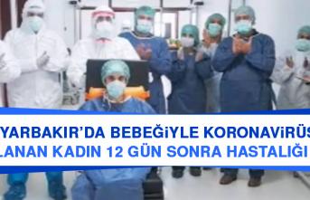 Diyarbakır'da Bebeğiyle Koronavirüse Yakalanan Kadın 12 Gün Sonra Hastalığı Yendi
