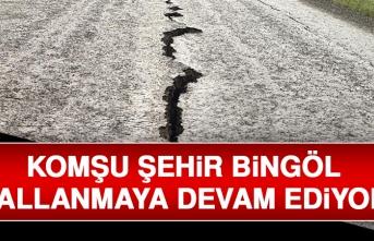Bingöl'de Depremler Devam Ediyor