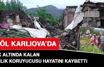 Bingöl Karlıova'da Göçük Altında Kalan Güvenlik Koruyucusu Hayatını Kaybetti