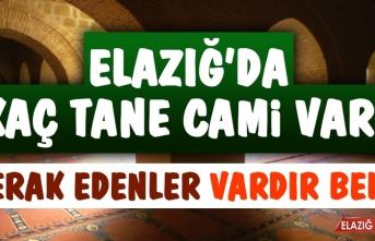 Elazığ'da Kaç Tane Cami Var?