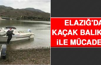 Elazığ'da Kaçak Balık Avı İle Mücadele