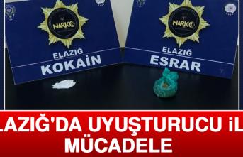 Elazığ'da Uyuşturucu İle Mücadele