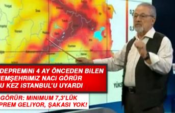Elazığ Depremini 4 Ay Önceden Bilen Hemşehrimiz Naci Görür, İstanbul'u Uyardı