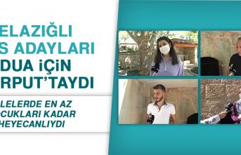 Elazığlı YKS Adayları Dua İçin Harput'taydı