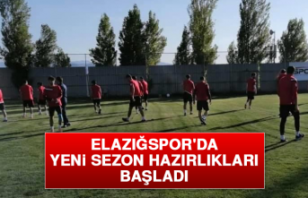 Elazığspor'da Yeni Sezon Hazırlıkları Başladı
