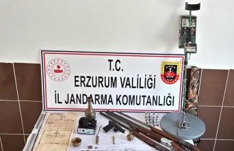 Erzurum'da tarihi eser kaçakçılığı operasyonunda yakalanan 4 kişiden biri tutuklandı