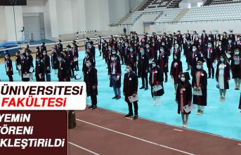 Fırat Üniversitesi Tıp Fakültesi Yemin Töreni Gerçekleştirildi