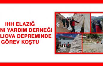 İHH Elazığ İnsani Yardım Derneği Karlıova Depreminde Görev Koştu