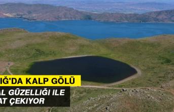 Kalp Gölü, Doğal Güzelliği İle Dikkat Çekiyor