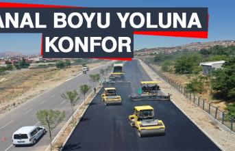 Kanal Boyu Yoluna Konfor