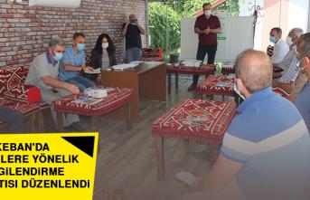 Keban'da Çiftçilere Yönelik Bilgilendirme Toplantısı