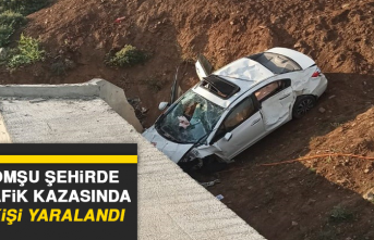 Komşu Şehirde Trafik Kazasında 4 Kişi Yaralandı
