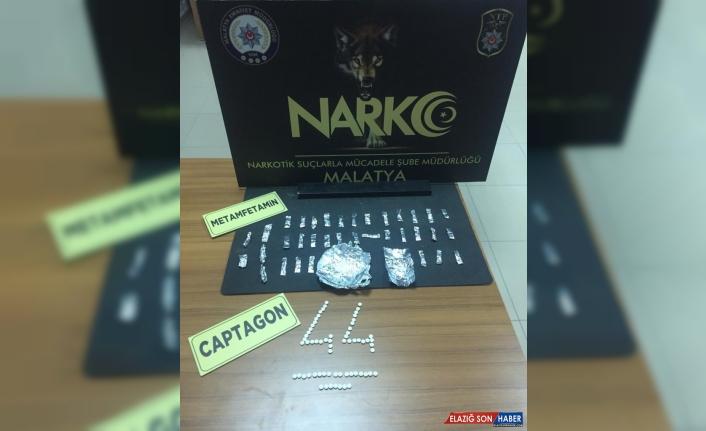 Malatya'da uyuşturucu operasyonunda 4 zanlı tutuklandı