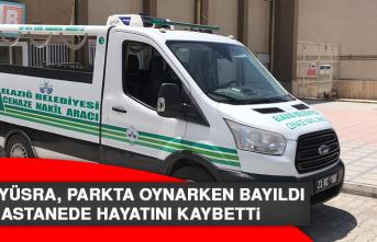 Minik Yüsra, Parkta Oynarken Bayıldı Hastanede Hayatını Kaybetti