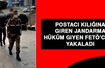 Postacı Kılığına Giren Jandarma, Hüküm Giyen FETÖ'cüyü Yakaladı