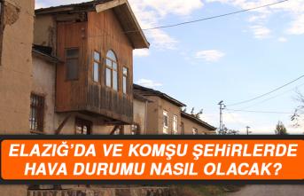 16 Temmuz'da Elazığ'da Hava Durumu Nasıl Olacak?