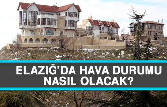 30 Temmuz'da Elazığ'da Hava Durumu Nasıl Olacak?
