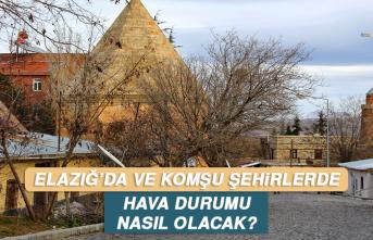 4 Temmuz'da Elazığ'da Hava Durumu Nasıl Olacak?
