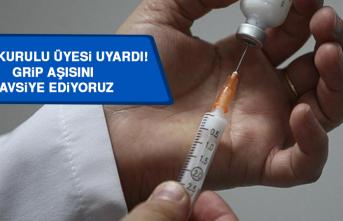 Bilim Kurulu Üyesi Uyardı: Grip Aşısını Tavsiye Ediyoruz, Covıd-19 Daha Ağır Seyredebilir