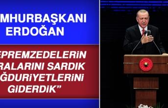 Cumhurbaşkanı Erdoğan, Elazığ Depremiyle İlgili Konuştu