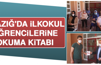 Elazığ'da İlkokul Öğrencilerine Okuma Kitabı