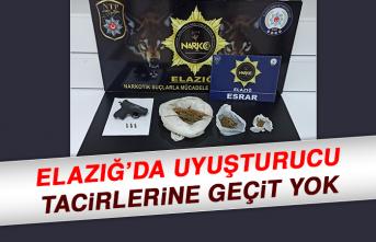 Elazığ'da Uyuşturucu Tacirlerine Geçit Yok