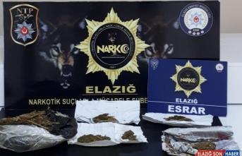 Elazığ'daki uyuşturucu operasyonunda 14 kişi gözaltına alındı