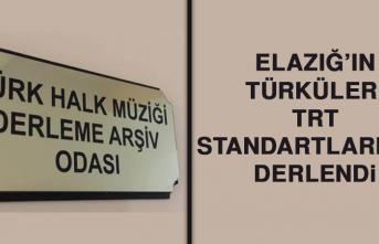 Elazığ'ın Türküleri TRT Standartlarında Derlendi